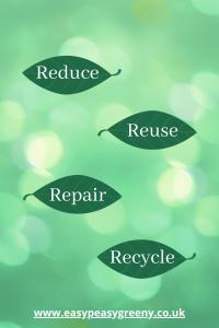 Reduce Reuse Repair Recycle