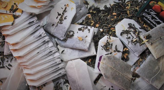 Plastic in tea bags